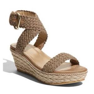 Stuart Weitzman Alexlo Platform Espadrille Sandals